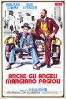 Poster Anche gli angeli mangiano fagioli