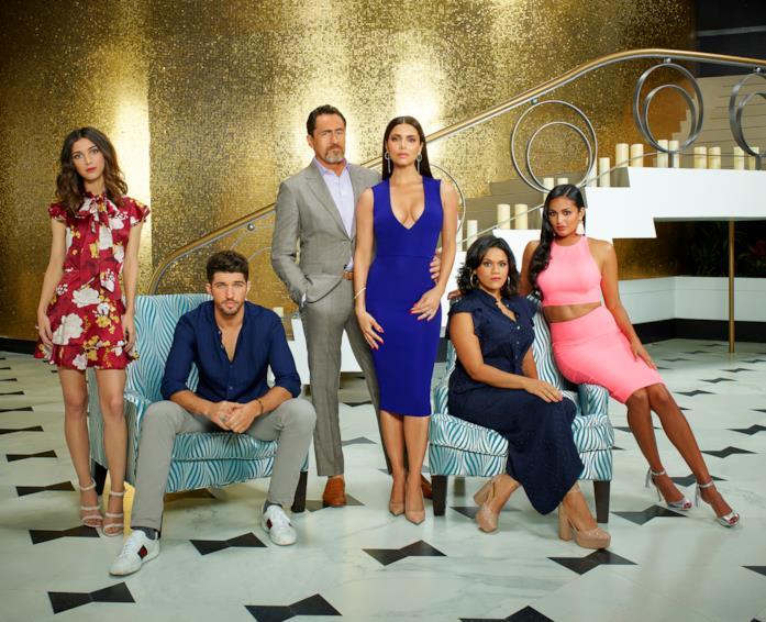 Il cast di Grand Hotel (USA)