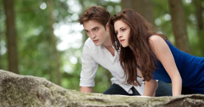 Bella e Edward a caccia