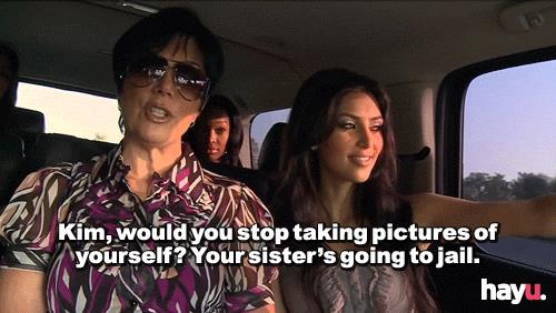 Scena di Al passo con i Kardashian