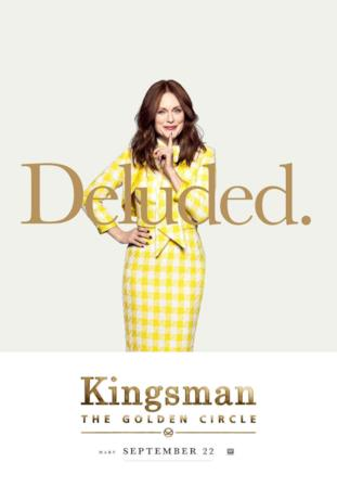 Poppy (Julianne Moore) nel character poster di Kingsman 2