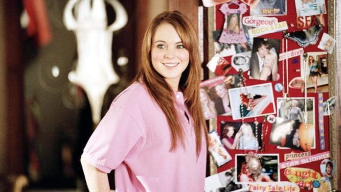 Lindsay Lohan in una scena di Mean Girls