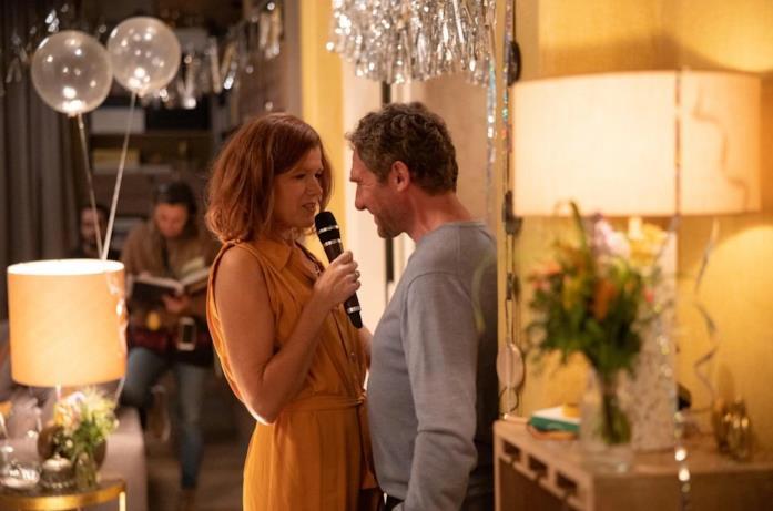 Anke Engelke e Johannes Zeiler in una scena di The Last Word