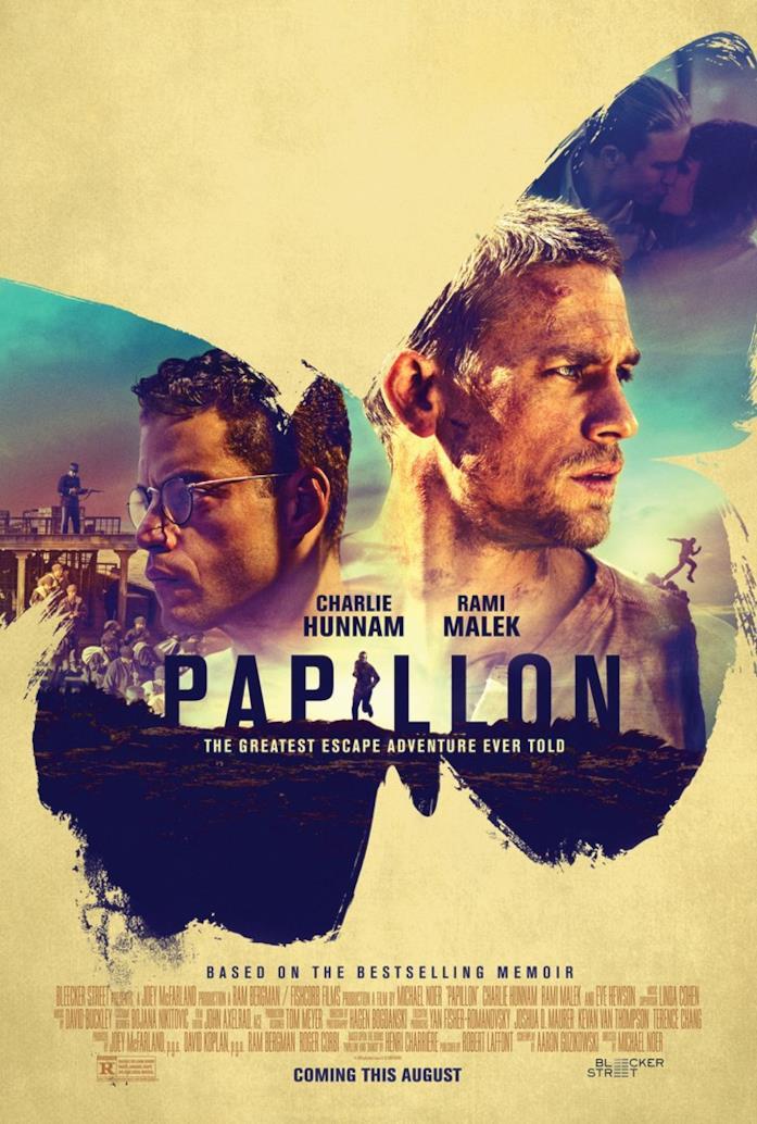 Poster ufficiale di Papillon