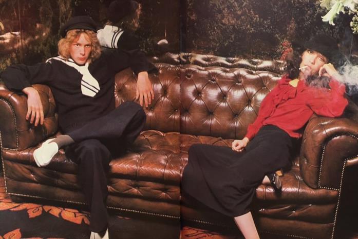 Björn Andrésen e Tachikawa Yuri in un servizio fotografico del 1971