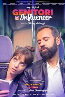 Poster Genitori vs influencer
