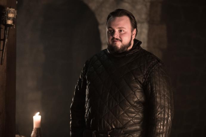 Game of Thrones 8: Sam appare pensieroso
