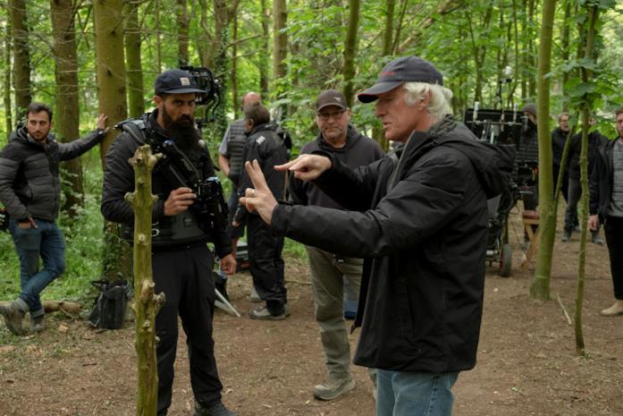 Il direttore della fotografia Roger Deakins