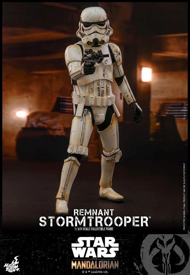 Stormtrooper, la nuova action figure di Hot Toys da The Mandalorian - frontale