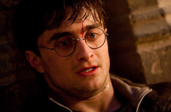 Daniel Radcliffe in HP e i Doni della Morte 2