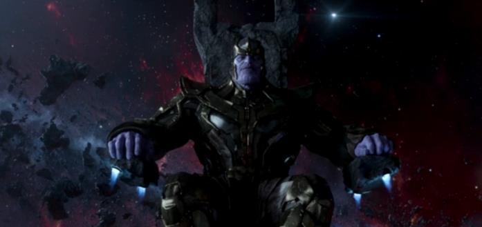 Thanos nel suo trono