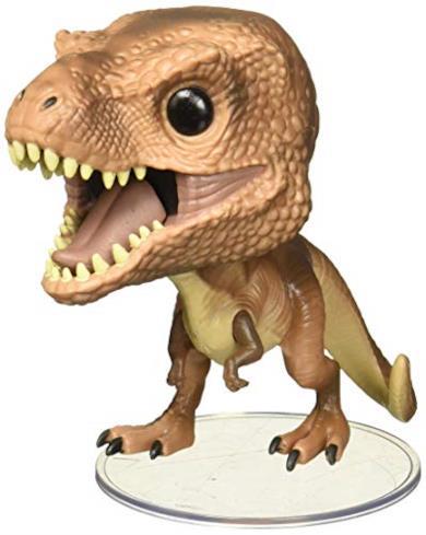 Funko- Pop Vinile Jurassic Park Tyrannosaurus Rex Personaggio, 9 cm, 26734