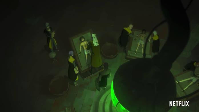 The Witcher: Nightmare of the Wolf, un'immagine tratta dal trailer ufficiale