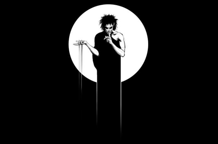 Un'immagine della cover di Sandman