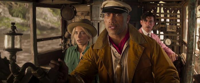 Emily Blunt e Dwayne Johnson nel nuovo trailer di Jungle Cruise