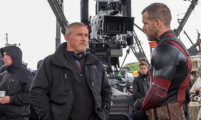 Tim Miller e Ryan Reynolds sul set di Deadpool