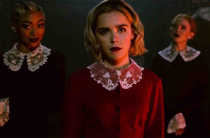 Una scena de Le terrificanti avventure di Sabrina