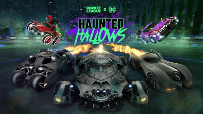 Rocket League e DC Comics per festeggiare Halloween