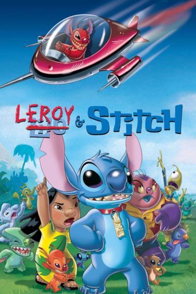Poster Leroy & Stitch