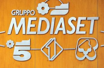 Il logo del gruppo Mediaset