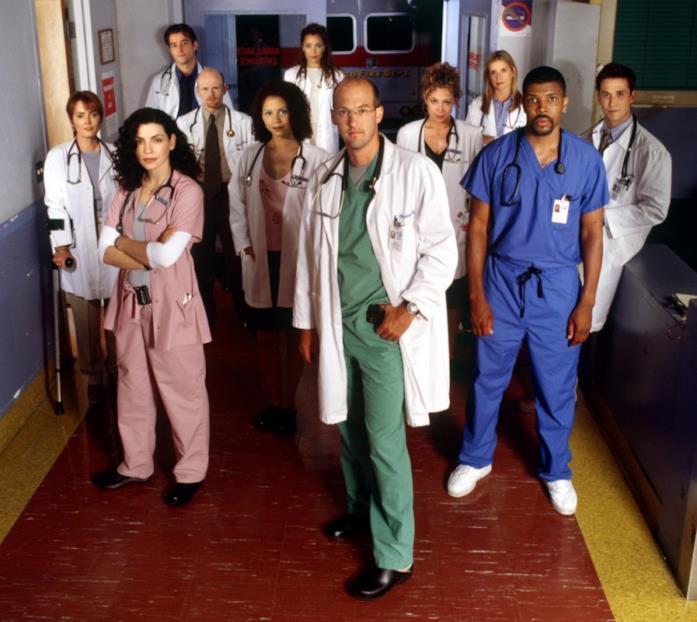 La serie tv E.R. era ambientata nel pronto soccorso del policlinico universitario di Chicago