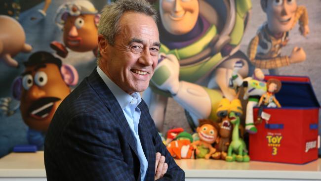 Presidente Pixar Jim Morris