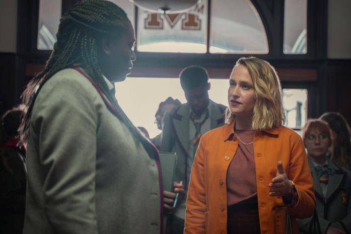 Una foto promozionale della terza stagione di Sex Education