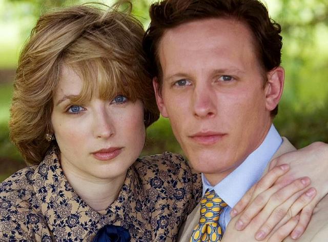 Laurence Fox e Michelle Duncan, sono Carlo e Diana in Whatever Love Means.jpg