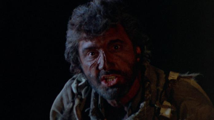 Papà Giove in una scena notturna del film