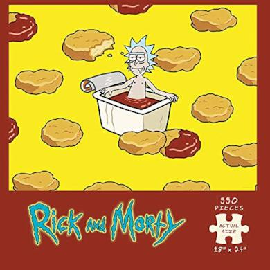 USAopoly Rick And Morty Szechuan Hot Tub Jigsaw Puzzle (550 Piece)