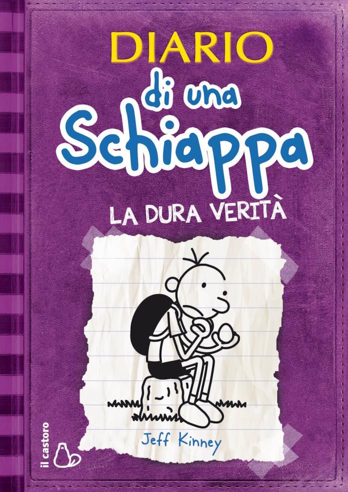 Diario di una schiappa, copertina quinto libro