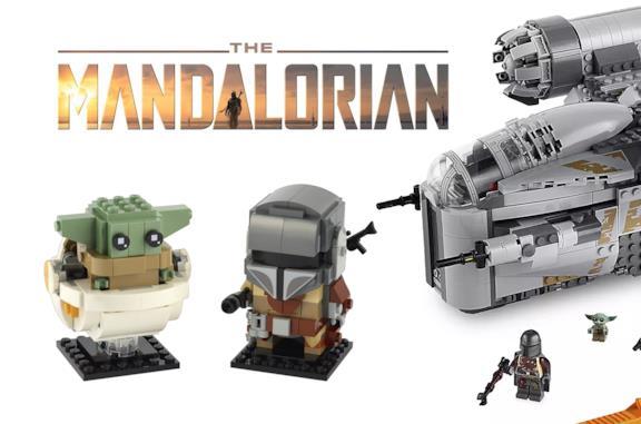 I pupazzetti LEGO e i set dedicati a The Mandalorian
