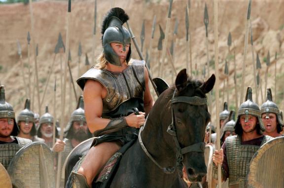 Troy, mito hollywoodiano: il cast completo del film con Brad Pitt