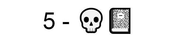 Emoji teschio diario