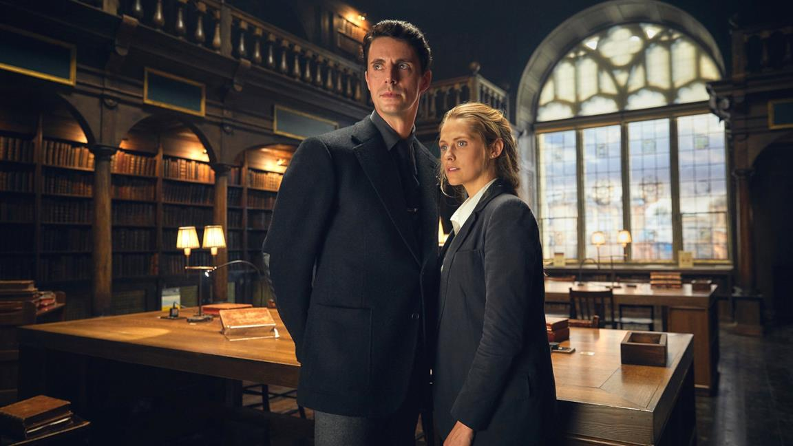 Teresa Palmer e Matthew Goode in A Discovery of Witches