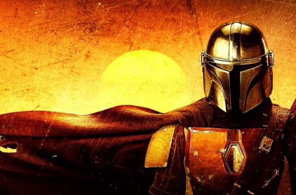 Il Mandaloriano protagonista della serie TV di Star Wars