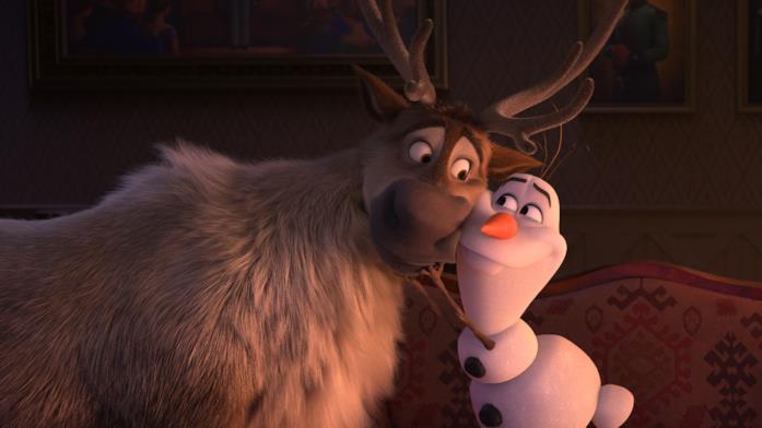 Sven e Olaf in Frozen II