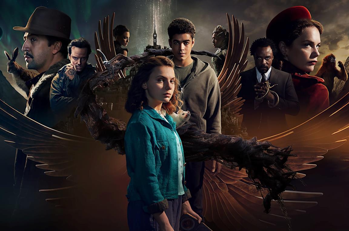 Il poster promozionale della seconda stagione di His Dark Materials