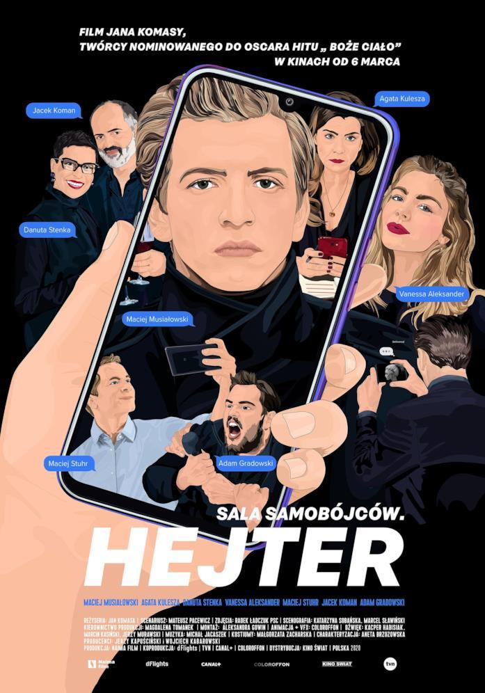 Il poster polacco del film