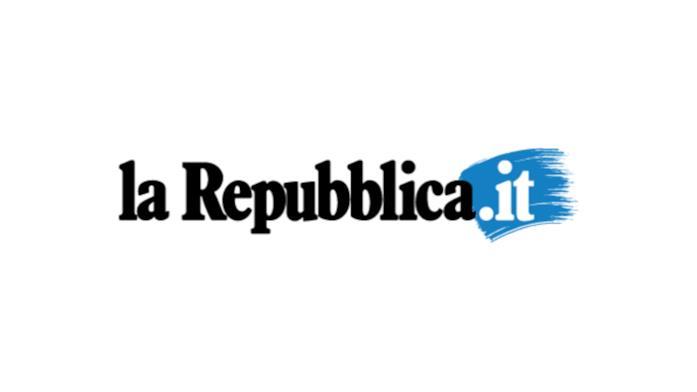 Il logo de La Repubblica
