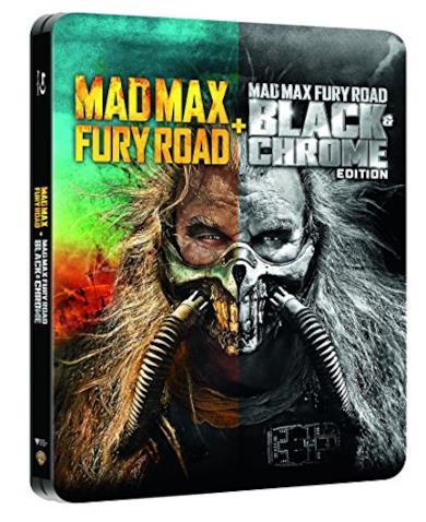 Mad Max Fury Road + Black&Chrome Edition Steelbook