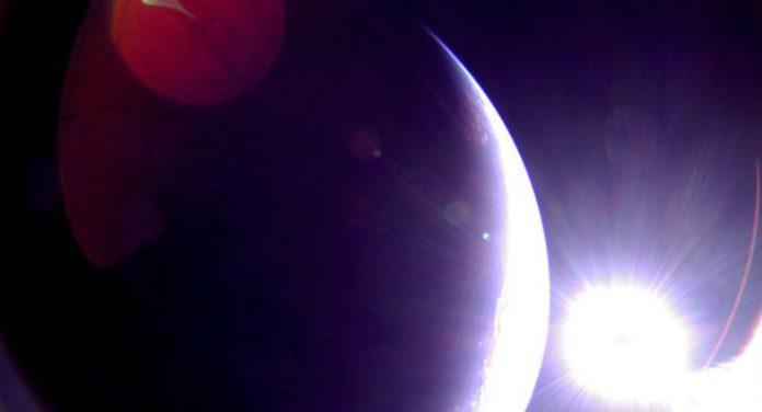 Profilo della Terra da LightSail 2