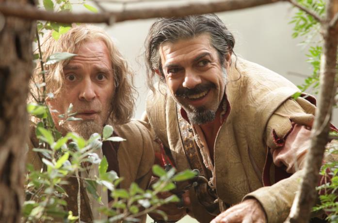 Porthos e D'Artagnan