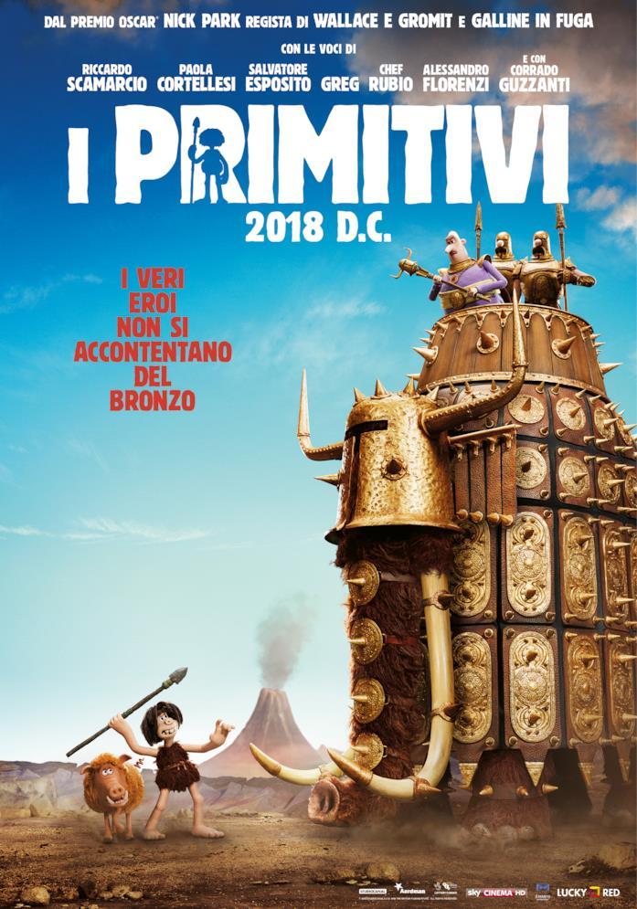 I Primitivi - Locandina