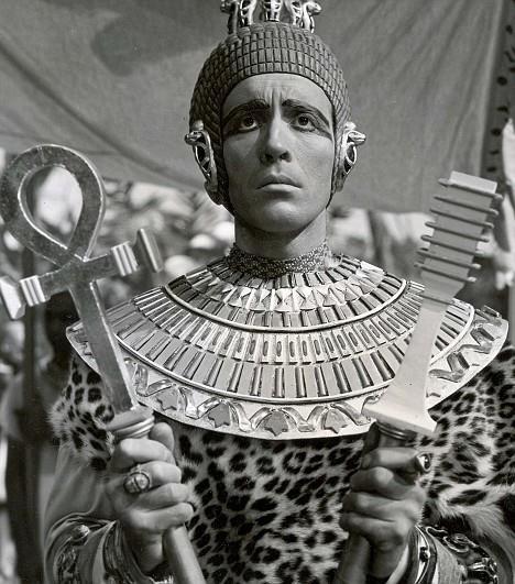 Christopher Lee nel ruolo della Mummia