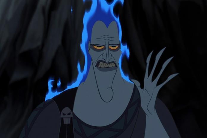 Ade in una scena di Hercules