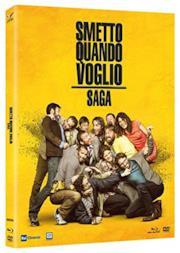 Cofanetto Smetto Quando Voglio (4 Dischi) (4 Blu Ray)