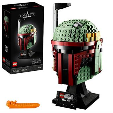 LEGO- Star Wars Casco di Boba FettSet di Costruzioni Ricco di Dettagli per Ragazzi +18 Anni, 75277