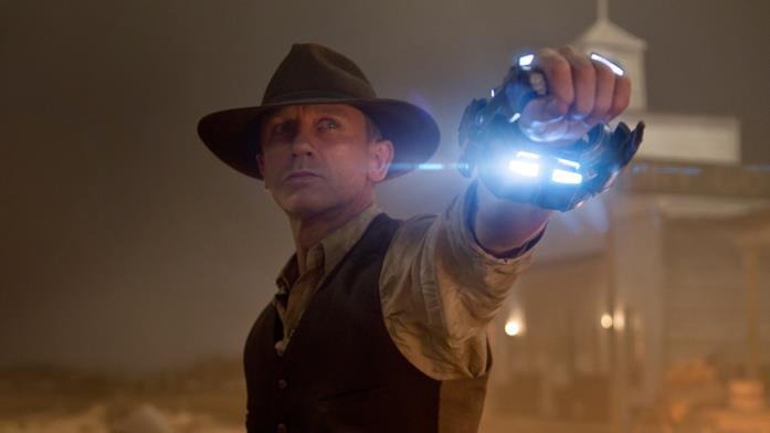 Daniel Craig in una scena di Cowboys and Aliens