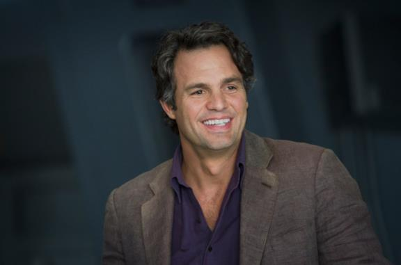 Mark Ruffalo in una scena di The Avengers